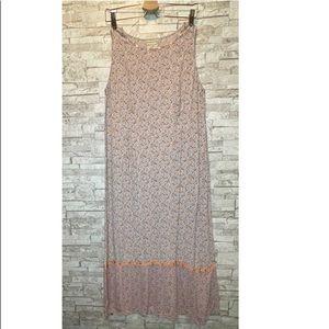 April Cornell Floral Prairie Beaded Vintage Dress